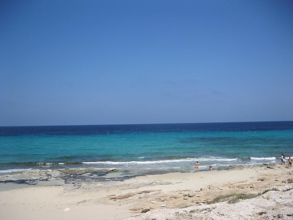 playa mijorn, Formentera, il mare più bello del mediterraneo. Isole Baleari