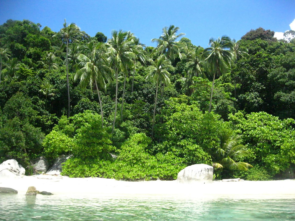 Turtle Beach, Pulau Besar, Perenthian Islands, Malaysia. Le 10 spiagge più belle del mondo