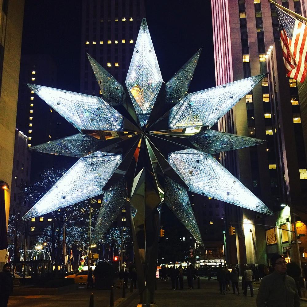 Accensione dell'albero di Natale al Rockfeller Center, New York