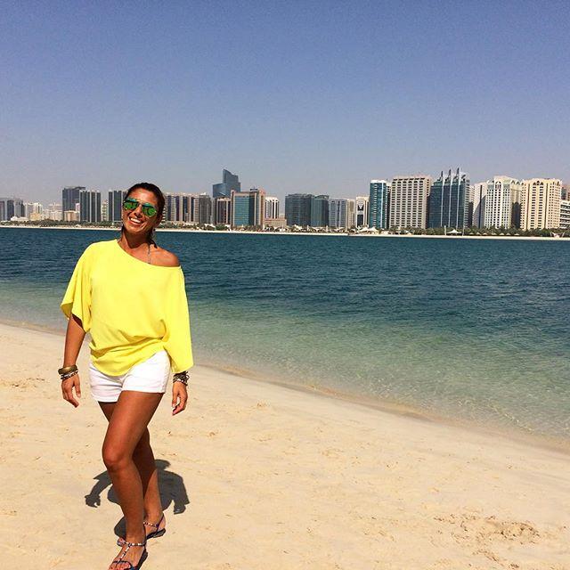 Colori che amo! Tornerei ad Abu Dhabi..