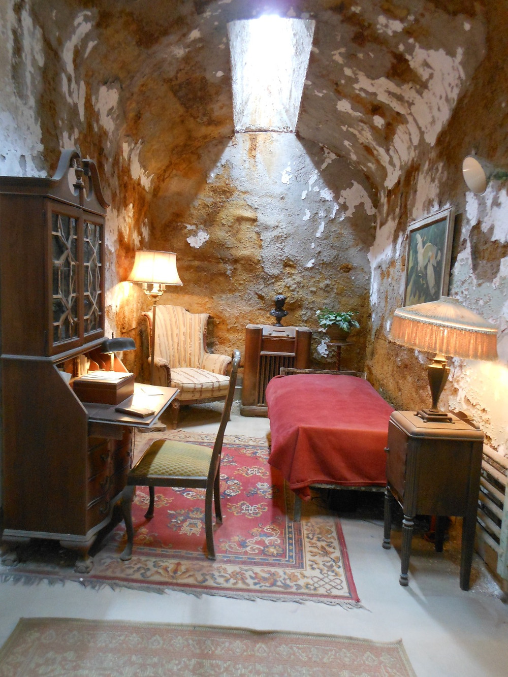 Eastern State Penitentiary, Philadelphia, cella di Al Capone
