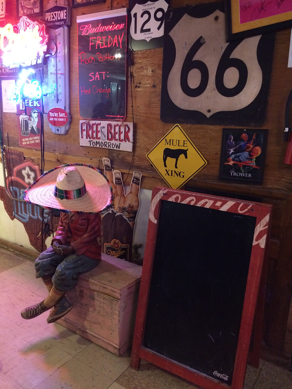 Smokey Joe's Amarillo, Texas, Route 66