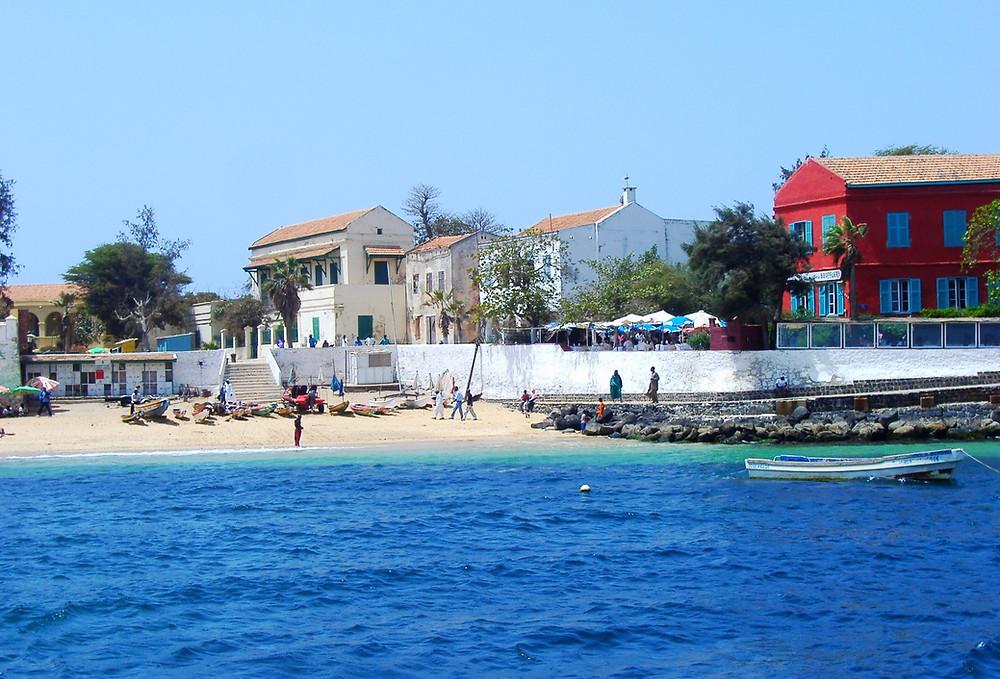 Isola di Goree, di fronte a Dakar, in Senegal