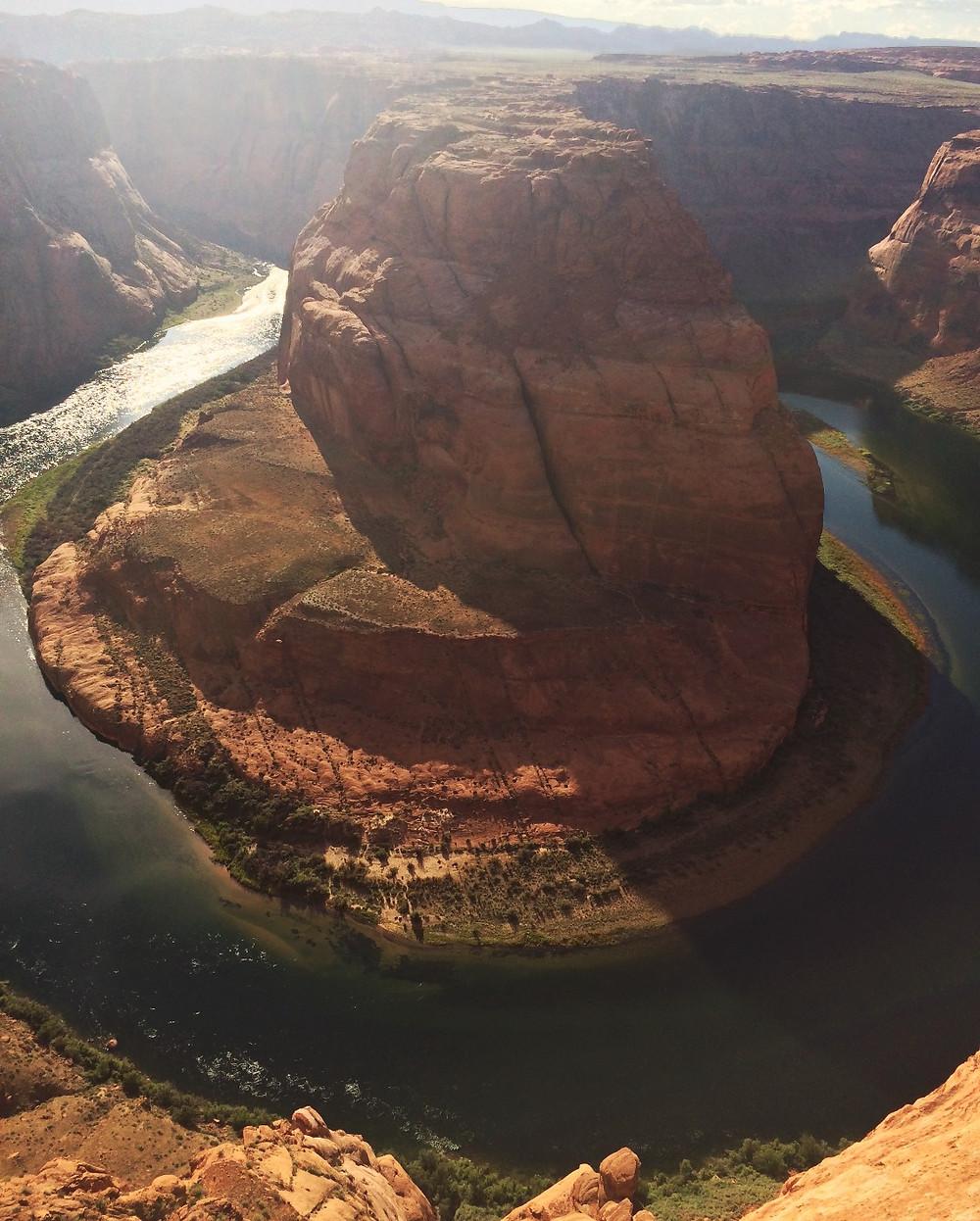 Horseshoe Bend, Page, Arizona, viaggio negli Stati Uniti