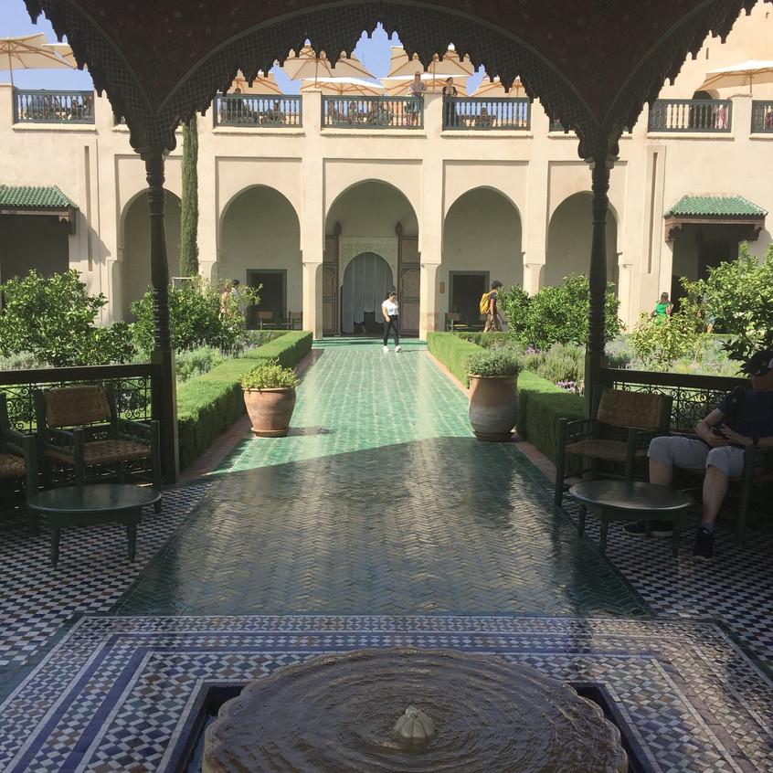 Jardin Secret, Marrakech, Marocco