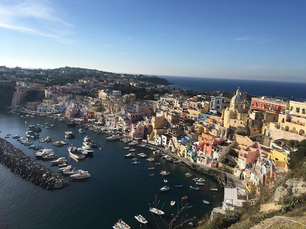 Procida, Golfo di Napoli, Italia - La Corricella