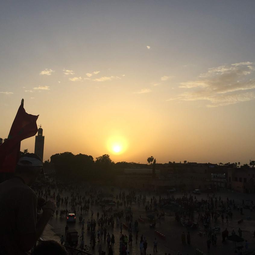Jamma el Fna, Marrakech