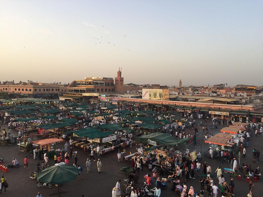 Jamaa el Fna, Marrakeck, Marocco