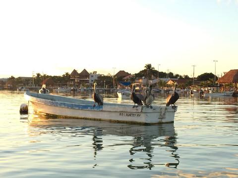 MESSICO. Rio Lagartos: villaggio di pescatori e Riserva della Biosfera nella penisola dello Yucatan