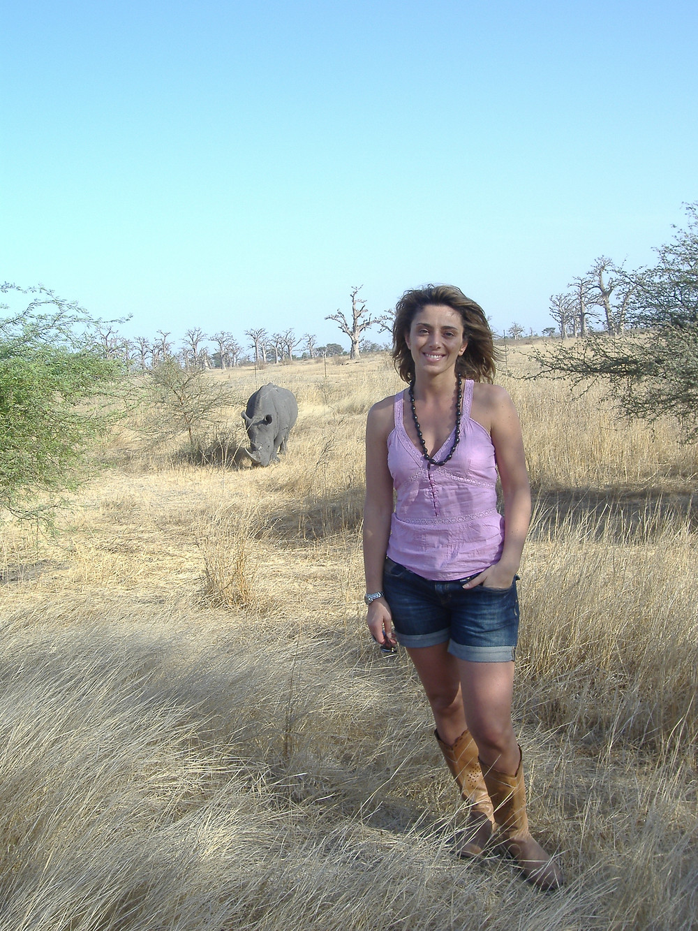 Riserva di Bandia, Senegal, Rinoceronte