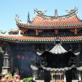 Traditional Taiwanese Temple