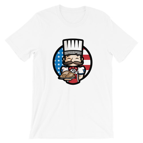 Cooked Eagle - T-shirt (White)