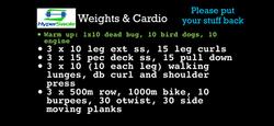 COMPLETE TOTAL BODY WEIGHT AND CARDIO WORKOUT