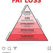 FAT LOSS PYRAMID