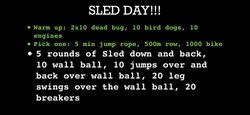 Sled Day
