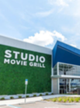 Studio Movie Grill Exterior - Theatre Conversion Drawings