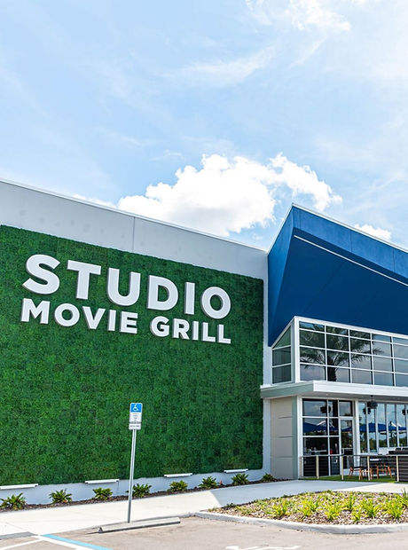 Studio Movie Grill Exterior - Theatre Conversion Drawings