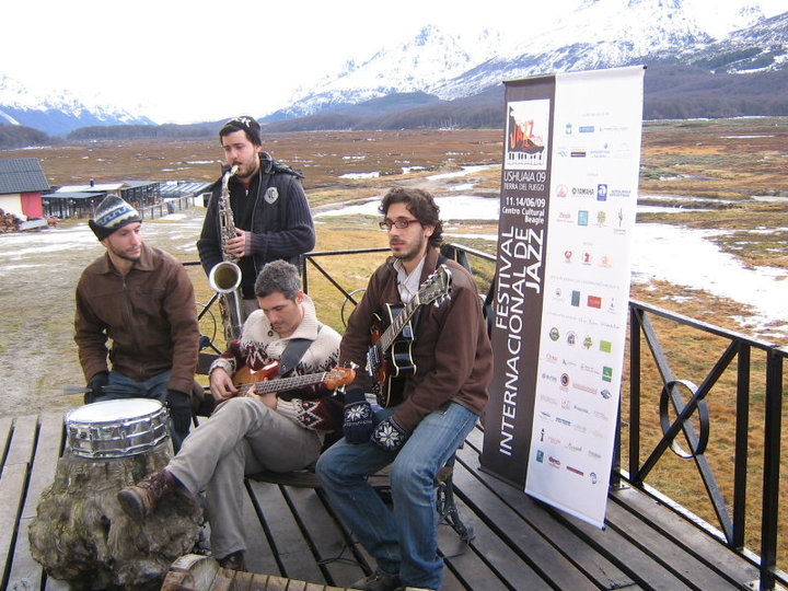 MIni Jam Session En centro Invernal