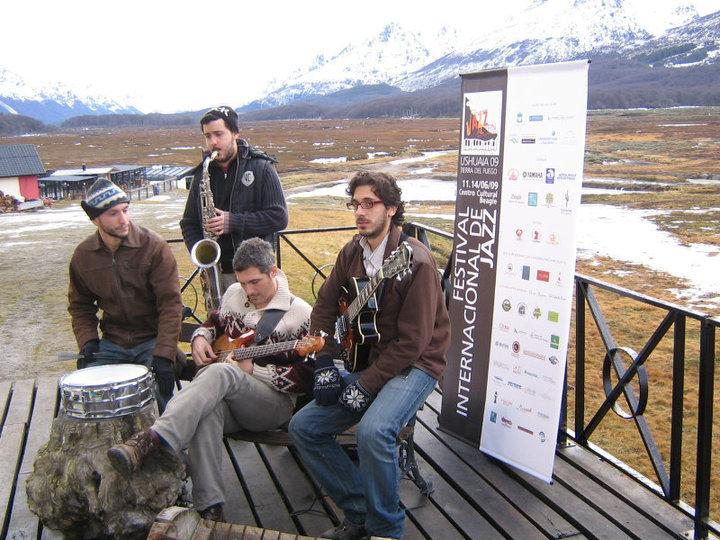 MIni Jam Session En centro Invernal