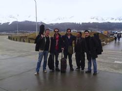 Llegando al Ushuaia Jazz Fest