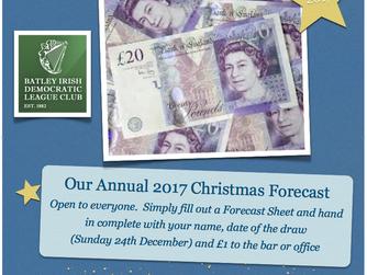 £1,000 Christmas Forecast