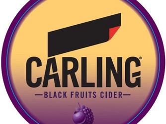 Carling Dark Fruit Cider OFFER