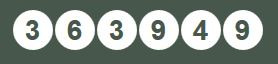 First Ever Celtic Lottery Numbers