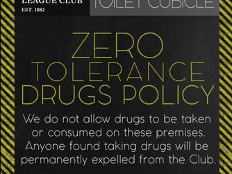 Zero Tolerance on Drugs