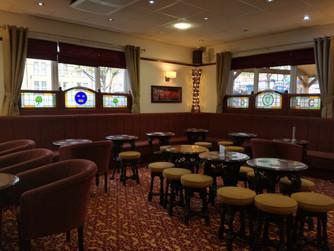 Newly decorated Lounge