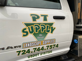 Commercial Vehicle Lettering