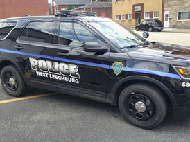 Reflective Police Vehicle Lettering