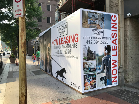 Real Estate Banner Wall Wrap