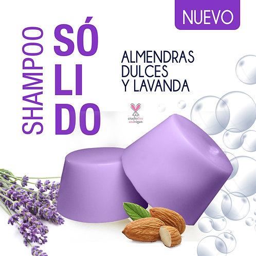 Shampoo solido Lavanda con Aceite de Almendras
