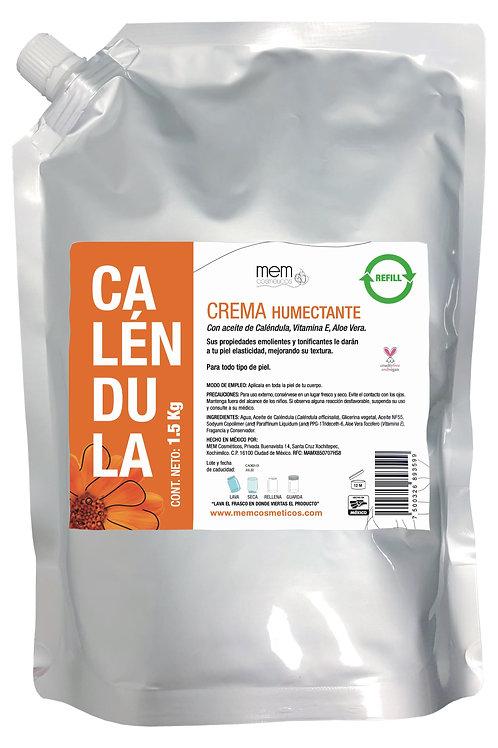 Crema Corporal Con Aceite De Caléndula, Eco-refill 1.5kg