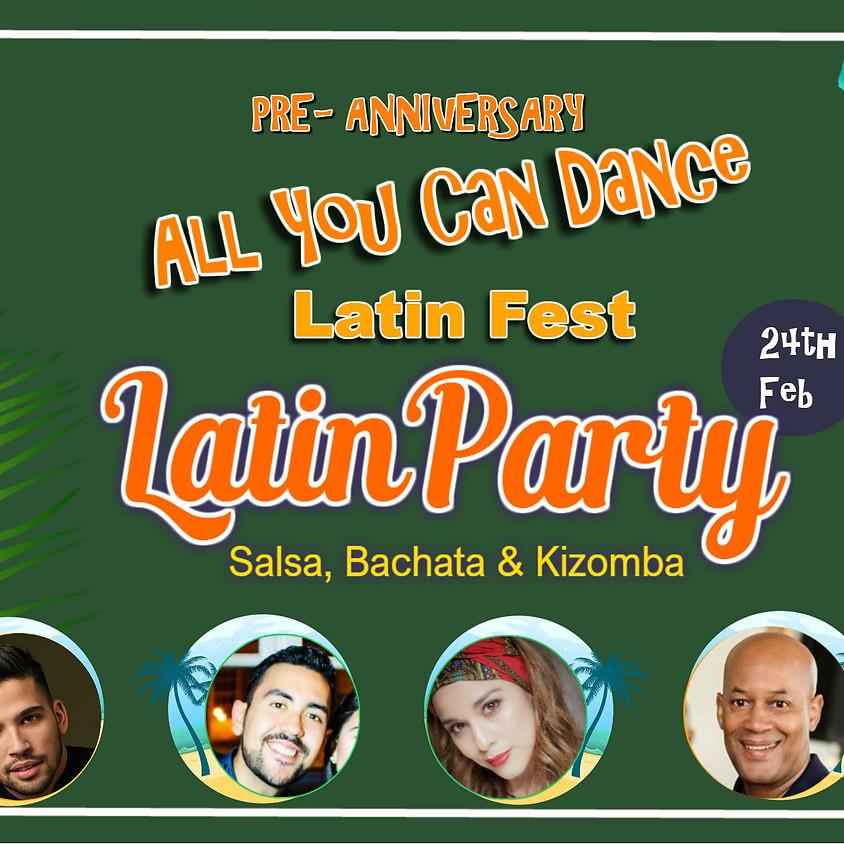 Pre-anniversary Latin Party Bachata, Salsa & Kizomba