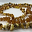 Thumbnail: Flea & Tick Repelling Raw Baltic Amber Collar for Pets