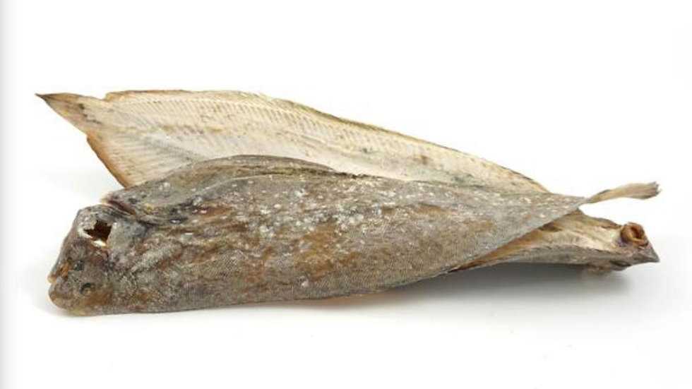 Dried Whole Dover Sole