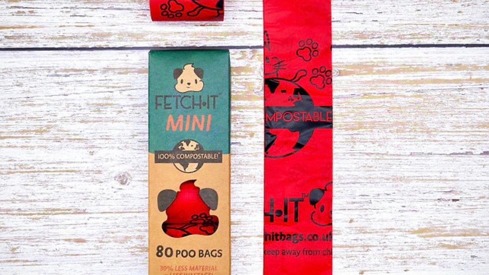 100% Compostable Poo Bags - Mini Size