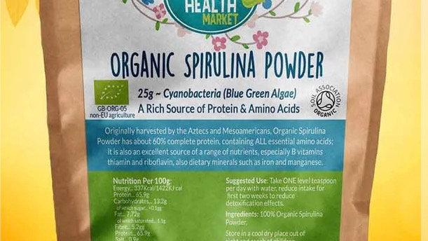 Organic Spirulina - 100g