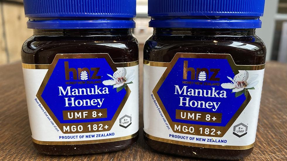 New Zealand Manuka Honey UMF 8+ MGO 182+
