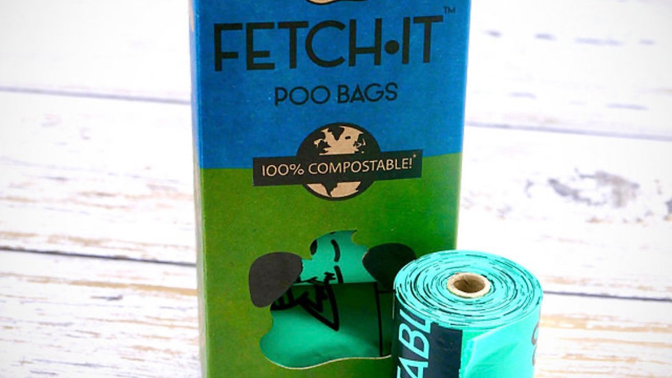 100% Compostable Poo Bags - Normal Size