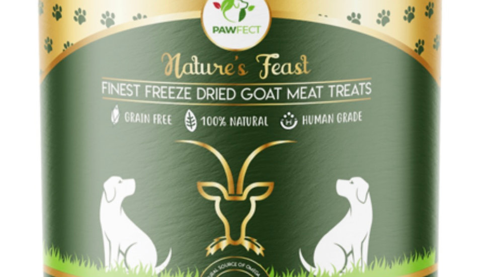 Finest Freeze Dried Goat Meat Treats for Dogs