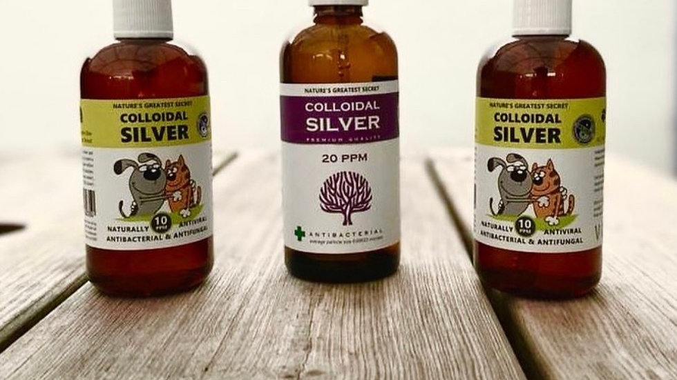 NGS Colloidal Silver for Pets 100ml Atomiser Spray