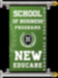 BUSINESS PROGRAMS OF NEW EDUCARE BANNER