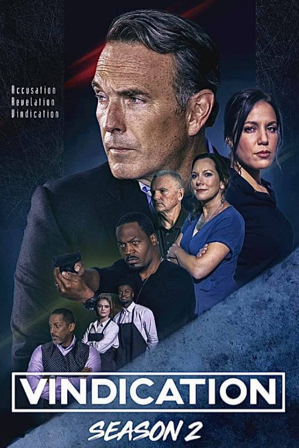 "A digital poster for season 2 of ""Vindication."""