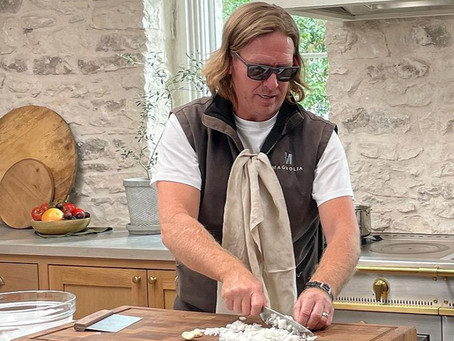 """Stark New Look for Chip Gaines of """"Fixer Upper"""" Fame"""