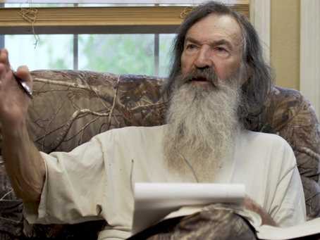 Phil Robertson Recounts Journey of Faith