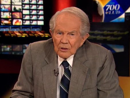 """Pat Robertson Retires from """"The 700 Club"""" after Decades-Long Run"""