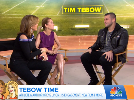 Why Would Star Athlete Tim Tebow Want to be in the Movie Biz?
