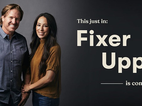 "Chip & Joanna Gaines to Reboot ""Fixer Upper"""